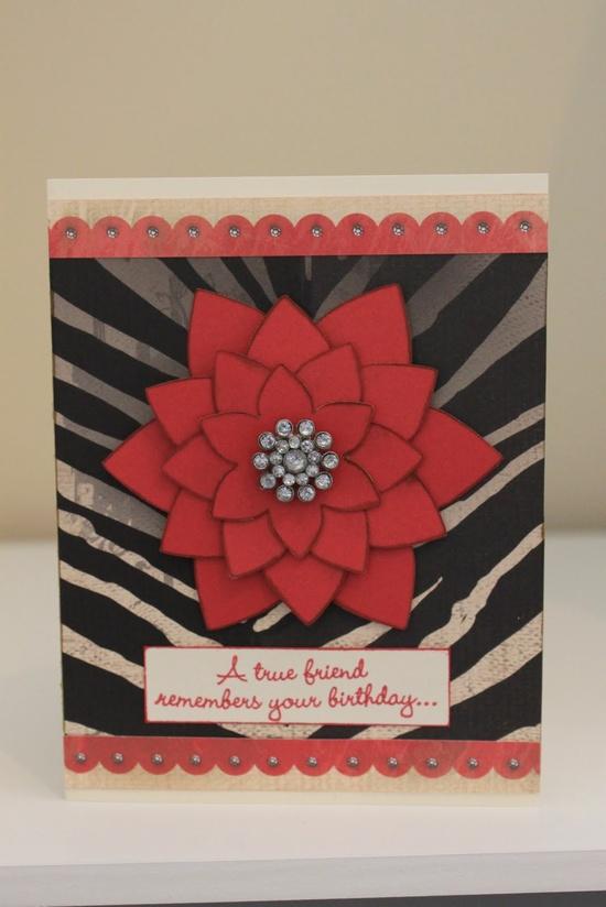 Birthday Card using Roxie Paper