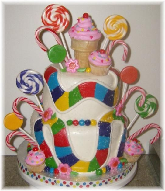 Candy Land cake @CABernet Sale remember when we tried to make a life size game board!? #goodtimes