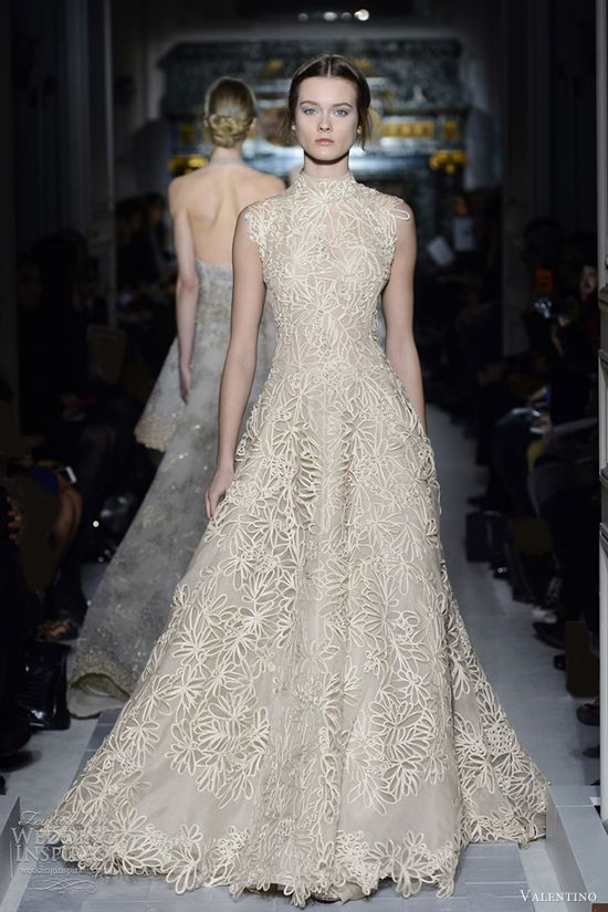 valentino spring 2013 couture collection sleeveless dress