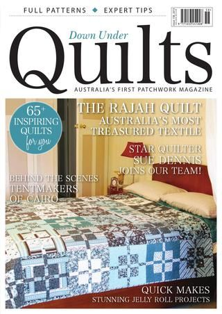 Down Under Quilts issue 158