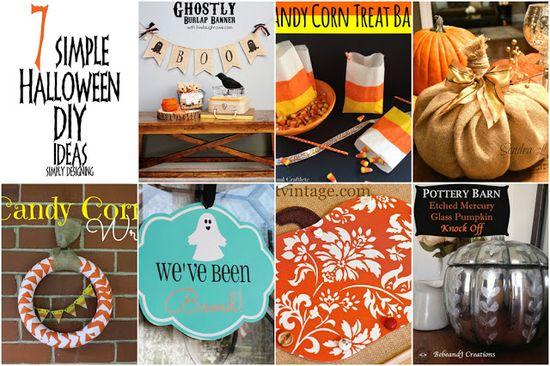 7 Simple Halloween DIY Ideas