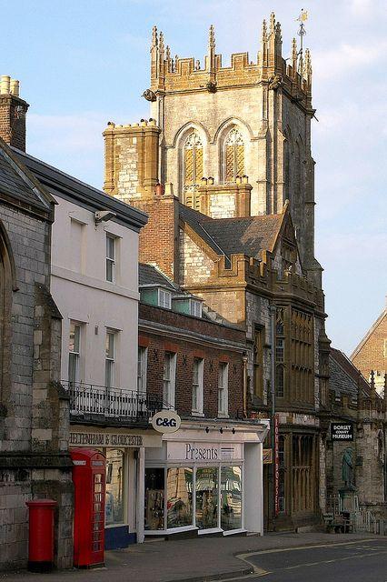 Dorchester High Street, Dorset