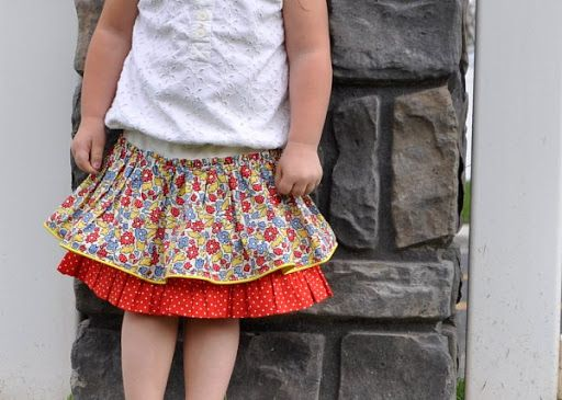 Super cute skirt tutorial