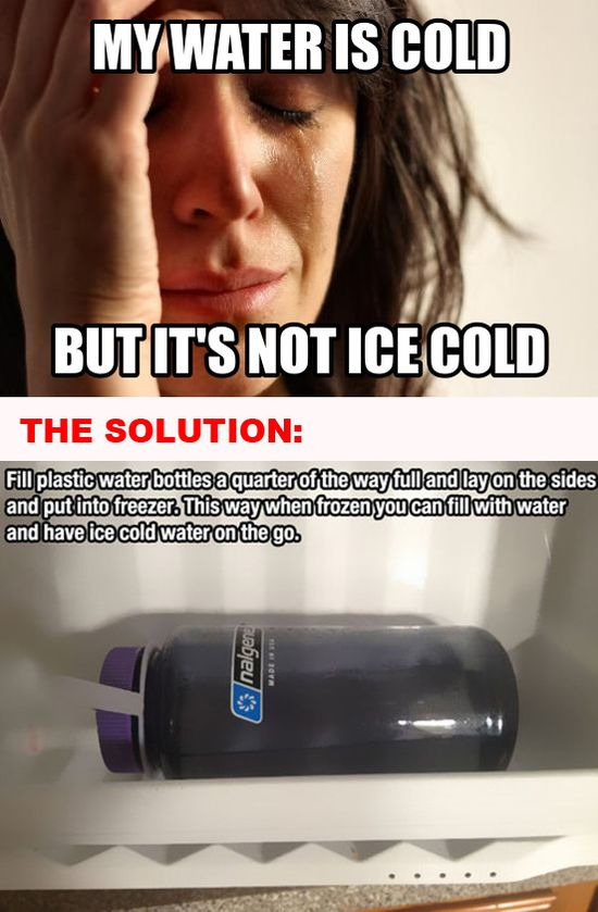 Solutions To Your Most Pressing First World Problems