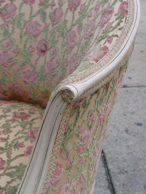 beautiful rose chenille fabric