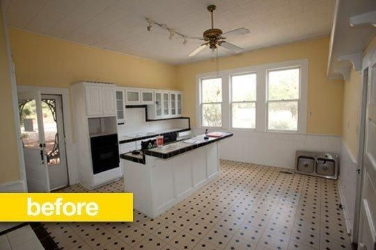 These are the before photos, click through to the link to see the amazing transformations! *swoon*  Kitchen Transformations   Board
