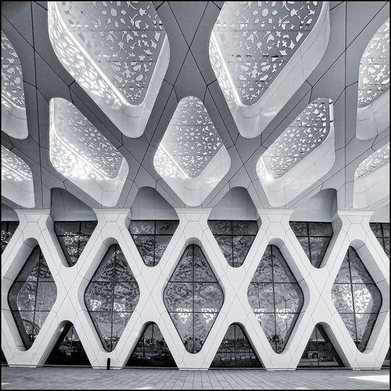#geometric #facade #contemporary #architecture