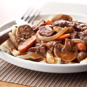 Simple Beef and Noodles Recipe #beef