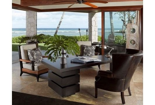 tropical office at home - Home and Garden Design Ideas