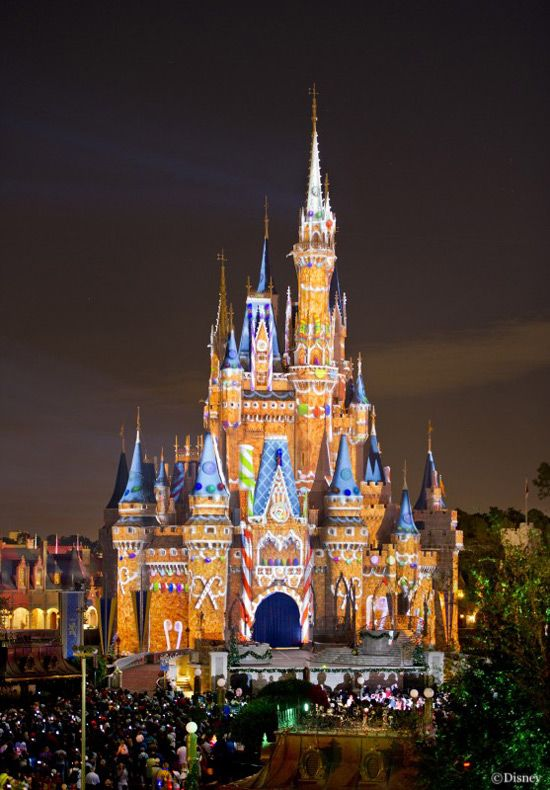 Gingerbread Cinderella Castle Disney World