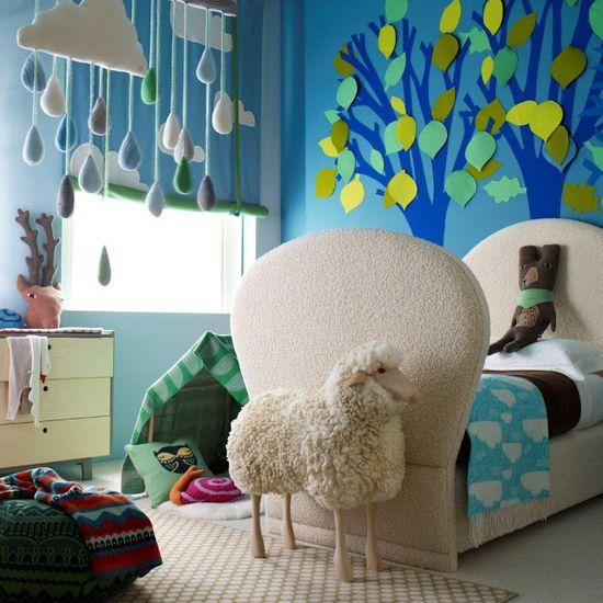 Whimsical Bedroom Decorating Ideas: Bed Room Photos: Whimsical Kid's Bedroom #decor #nursery