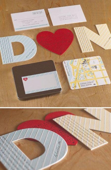 How cute is this? #wedding #invitations