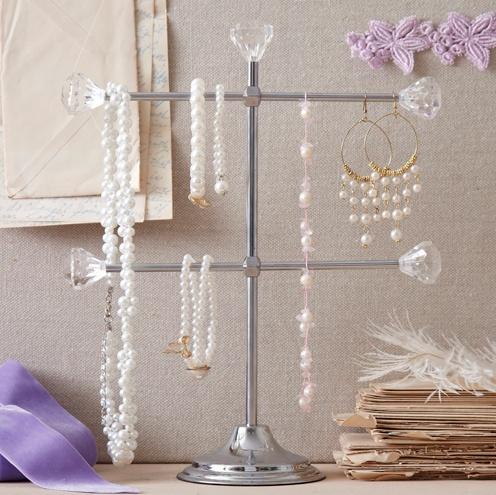 Diamond Knob Jewelry Holder