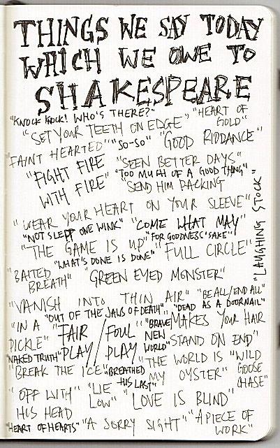 Shakespeare. Boss.