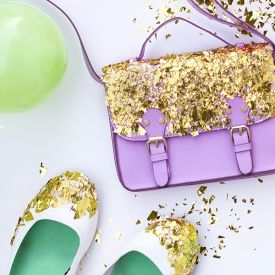 Why not dip your accessories in confetti!?
