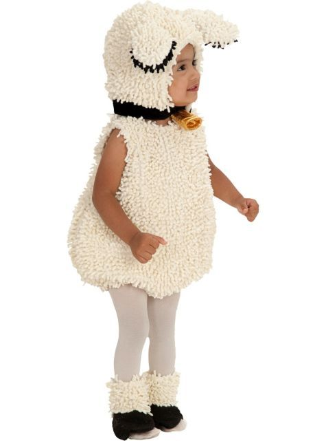 Baby Lamb Outfit for Halloween