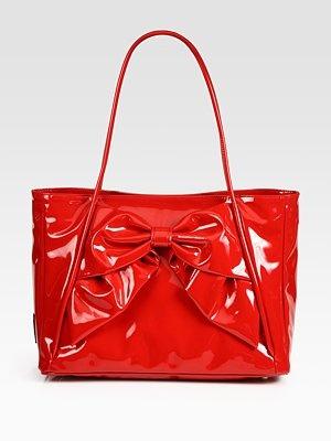Valentino - Lacca Betty Bow Tote Bag