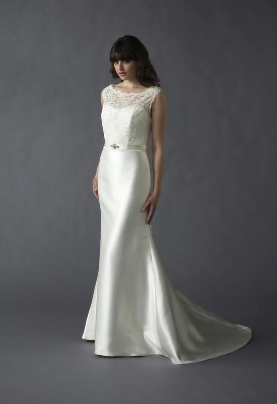 "Caroline DeVillo ""Rita"" gown #Nordstromweddings"