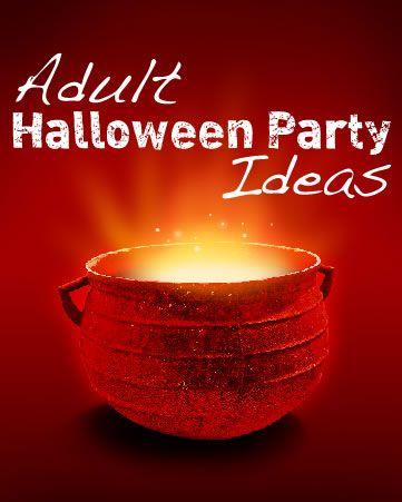 Adult Halloween Party Ideas