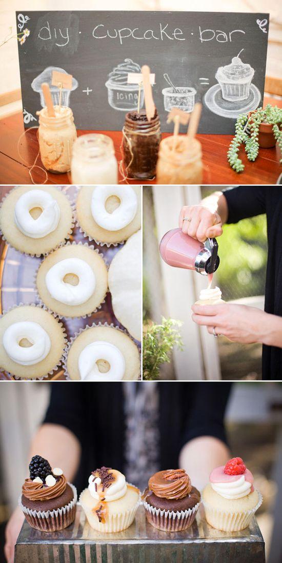 DIY Cupcake Bar - Great Party Idea!!!