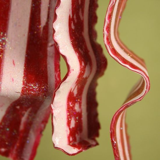 Sparkle Bacon Christmas Ornament!