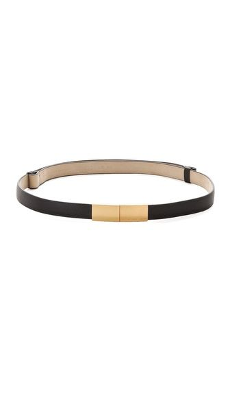 Push Lock Belt by Marc by Marc Jacobs #Belt #Marc_Jacobs
