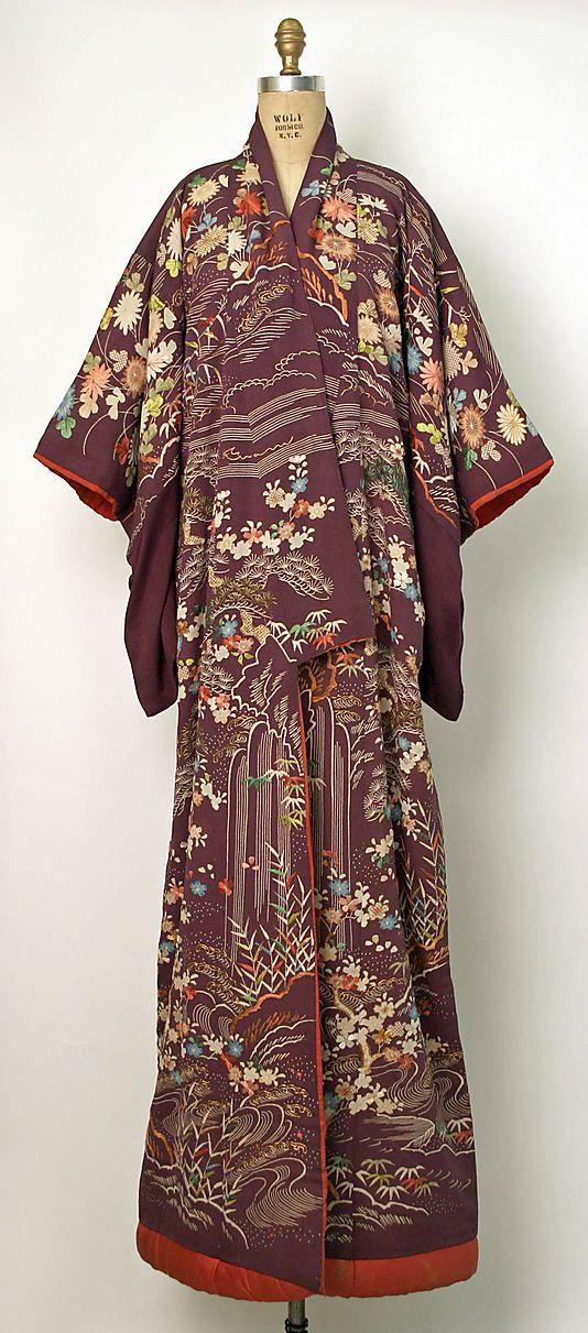 Vintage Kimono, 19th century, Japan
