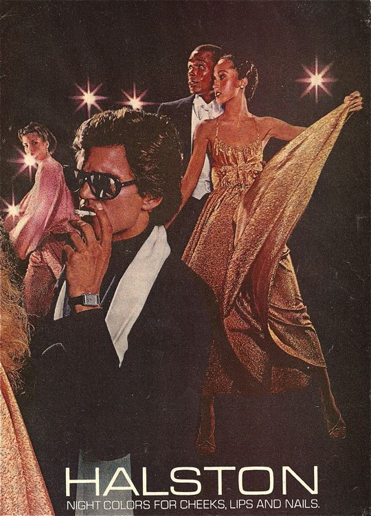 HALSTON ad 1970s