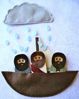 Histórias da bíblia Fantoches de dedo