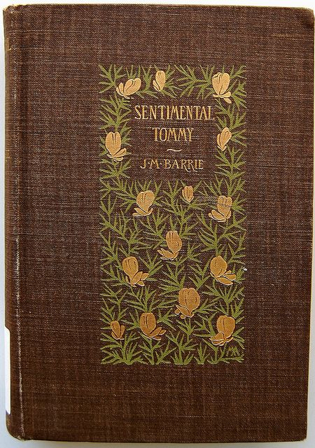 Book Cover of Sentimental Tommy by Crossett Library Bennington College, via Flickr