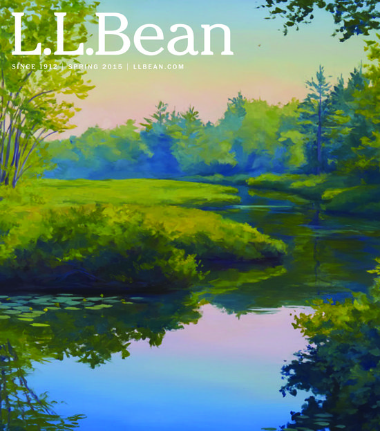 L.L.Bean Art and Catalog Covers  Board