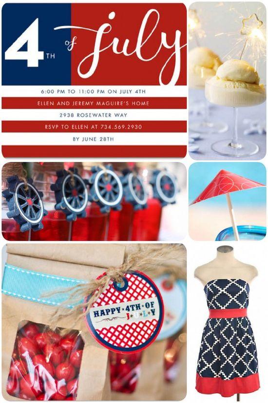Patriotic July 4th Party Ideas