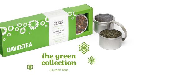 The Green Collection by DavidsTea