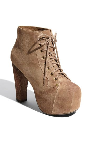 Jeffrey Campbell 'Lita' Suede Bootie available at #Nordstrom