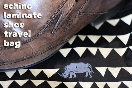 Handmade Gifts for Men: Shoe Travel Bag