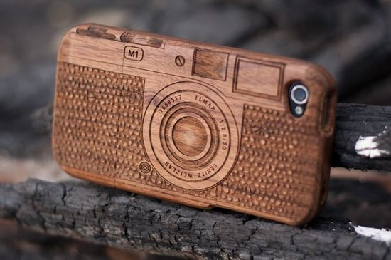 Love this Wooden iPhone case!