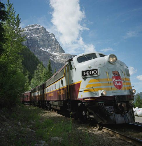 The Royal Canadian Pacific.