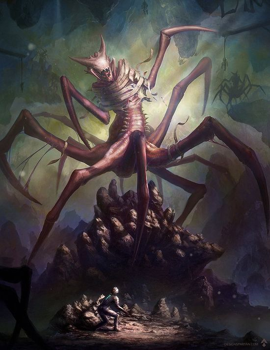 Digital Art  Monster Spider  inspired by Dead Space 3Dead Space 3 Monsters