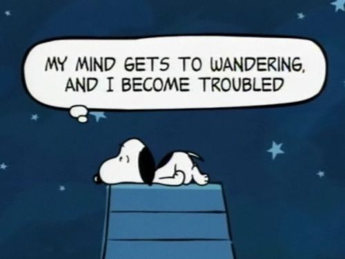 snoopy troubles