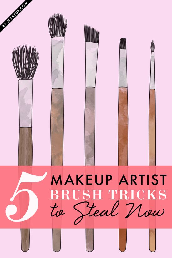 5 makeup brush tricks from the pros you need to steal!