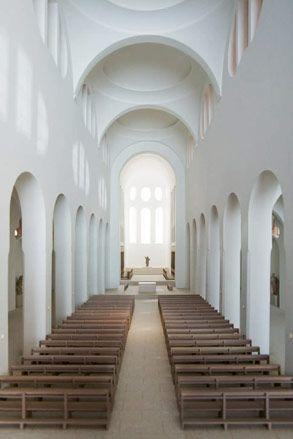 John #Pawson, model of St Moritz Church, Augsburg, Germany