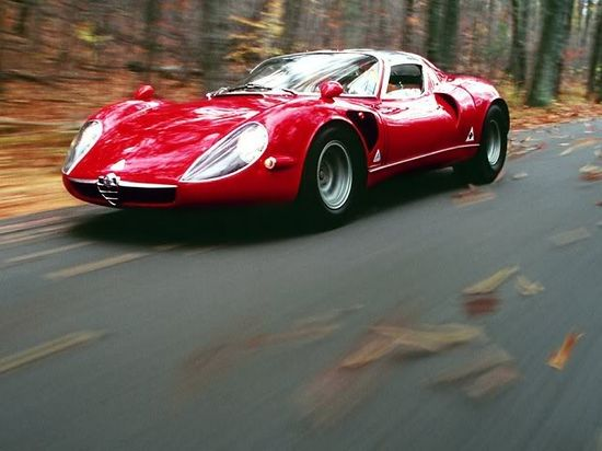 The Beautiful #AlfaRomeo Stradale, 1967