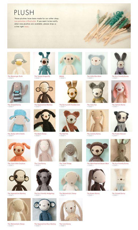 Adorable handmade plushies