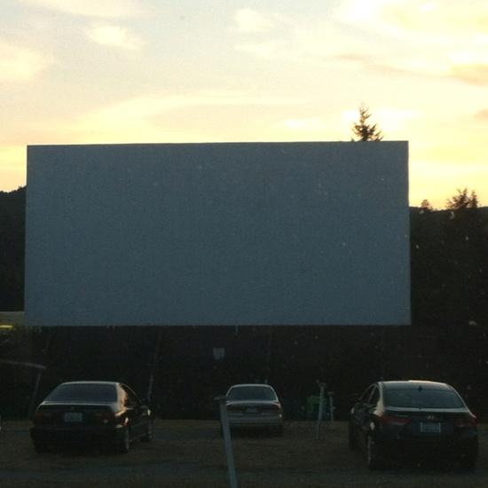 Skyline drive in movie theater Shelton, WA