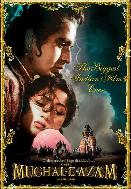 Truly a film of epic proportions, it took a whole nine years to complete! The lavishness of the film is huge, matched only by the scope of its narration. This film was a top grosser for 15 years, till it was displaced by Sholay. Incidentally, this was the first movie in the world to be colorized from an original black and white version. Photo credit: bit.ly/14YBjmh