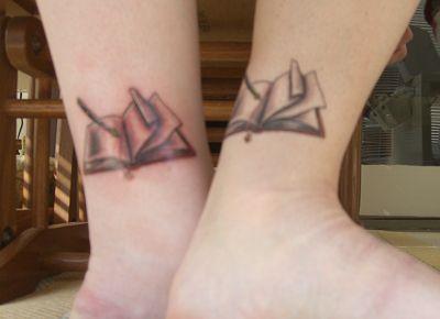 Book Tattoo :)