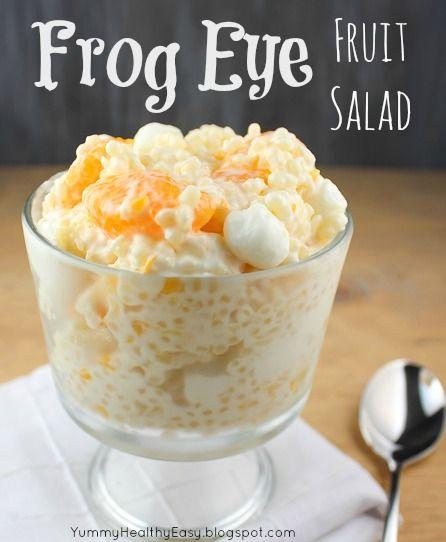 Frog Eye Fruit Salad {Yummy. Healthy. Easy} #fruit #recipe
