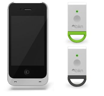 bikn. Find your lost keys or anything else you keep loosing  with this integrated case and app. I lose my iPod and pretty much everything now, this would be so helpful!