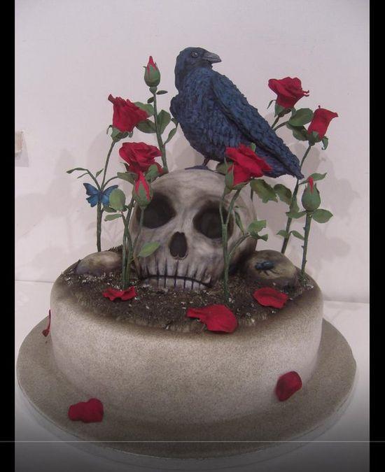 Memento mori Cake by Lynnsmith