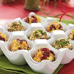 Savory Cheese Truffles with Chives